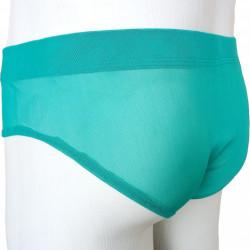 Cueca Sungão Jockstrap Ultra Final Tule Transparente Verde Cuecas SexLord Underwear