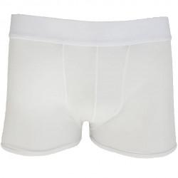 Cueca Boxer em Tule Transparente Branco Cuecas SexLord Underwear