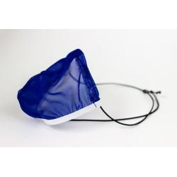 Cueca Fio Dental Transparente com Elástico Roliço em Tule Azul Ajustável e Respirável Cuecas SexLord Underwear