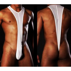 Cueca Strap Sexy Bodysuit com Suspensórios Fio Dental Cuecas SexLord Underwear