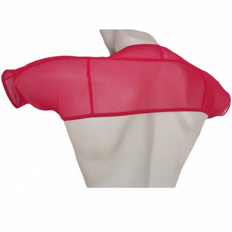 Fishnet top men ombro regata sexy colete masculino tule transparente Vermelho musculação gay Cuecas SexLord Underwear