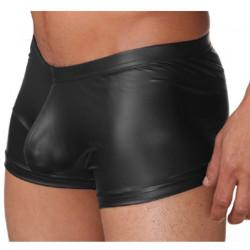 Cueca Boxer com Bojo Anatômico de Sustentação Frontal Cirre Grafite Cuecas SexLord Underwear